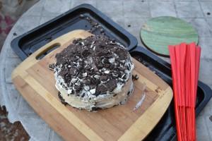 Wudang Oreo Birthday Cake. Mmmmmm,