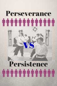 perseverance vs persistence