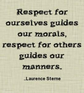 respect for self