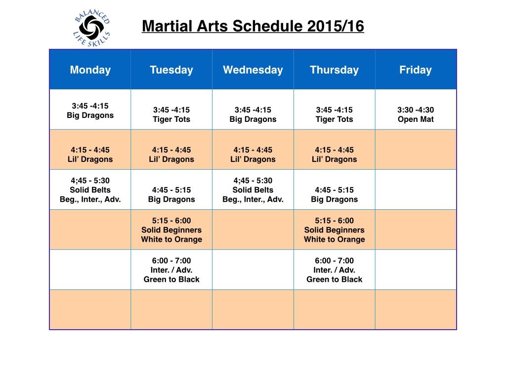 Schedule 2015:16.001