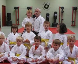Portfolio-TKD-Young class
