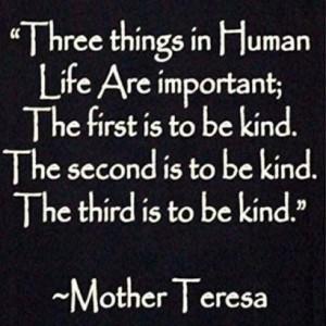 kindness teresa