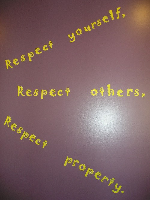 essay on respecting property