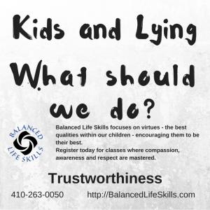 Kids and Lying
